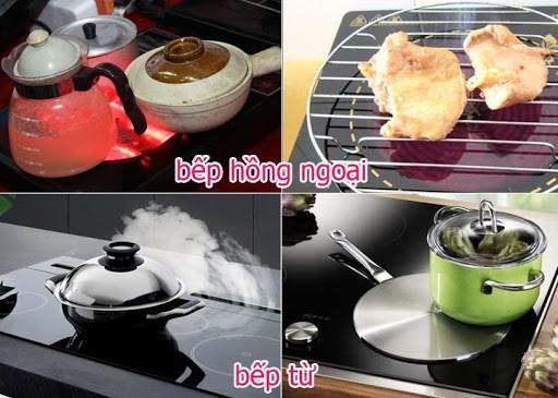 Bếp từ và bếp hồng ngoại cái nào tốn điện hơn