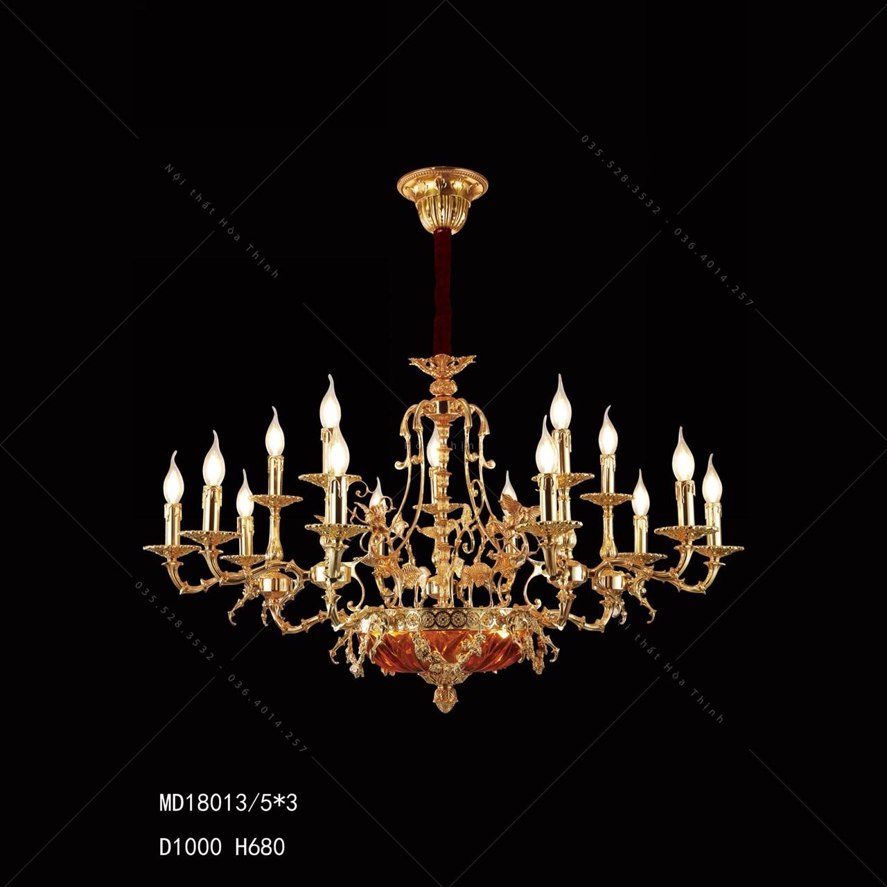 đèn chùm giá 1 triệu MD 18013/5*3