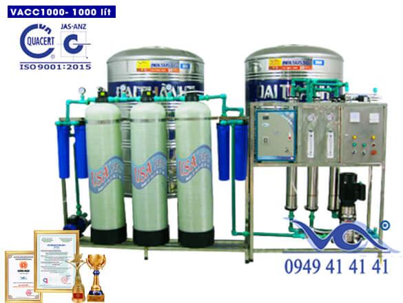 Dây chuyền lọc nước tinh khiết 1000 lít van cơ