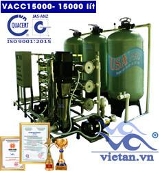 Dây chuyền lọc nước 15000 lít van cơ