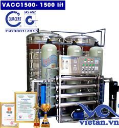 dây chuyền lọc nước 1500 van cơ