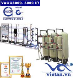 Dây chuyền lọc nước 3000 lít van cơ