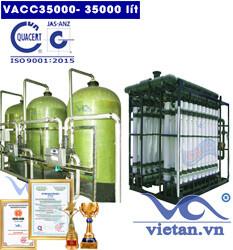 Dây chuyền lọc nước 35000 lít