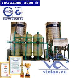 Dây chuyền lọc nước 4000 lít van cơ