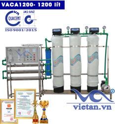Dây chuyền lọc nước tinh khiết 1200 lít