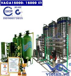 Dây chuyền lọc nước tinh khiết 15000 lít