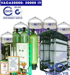 Dây chuyền lọc nước tinh khiết 20000 lít