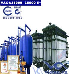Dây chuyền lọc nước tinh khiết 35000 lít/h