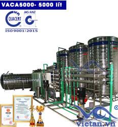 Dây chuyền lọc nước tinh khiết 5000 lít