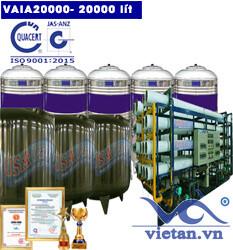 Hệ thống lọc nước 20000 lít autovan