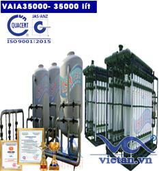 Hệ thống lọc nước 35000 lít autovan