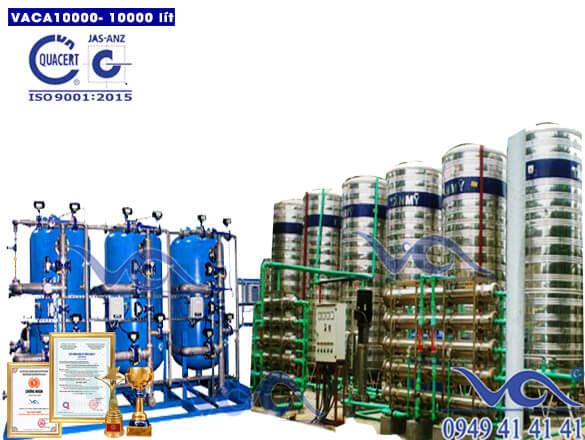 Dây chuyền lọc nước tinh khiết 10000 lít/h autovan