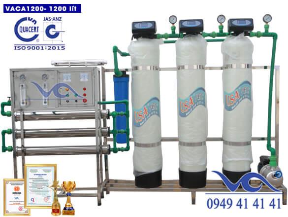 Dây chuyền lọc nước tinh khiết 1200 lít/h autovan