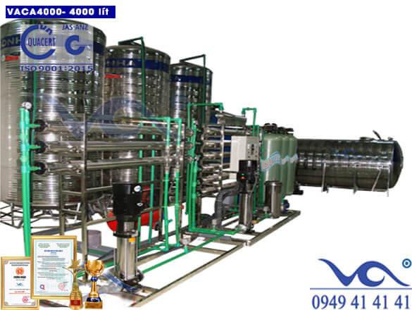 Dây chuyền lọc nước tinh khiết 4000 lít/h autovan