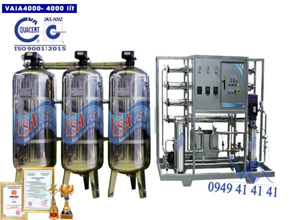 Hệ thống lọc nước 4000 lít inox autovan