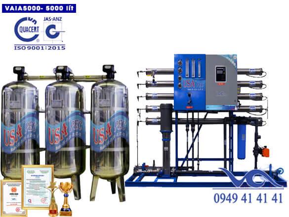 Hệ thống lọc nước 5000 lít inox autovan