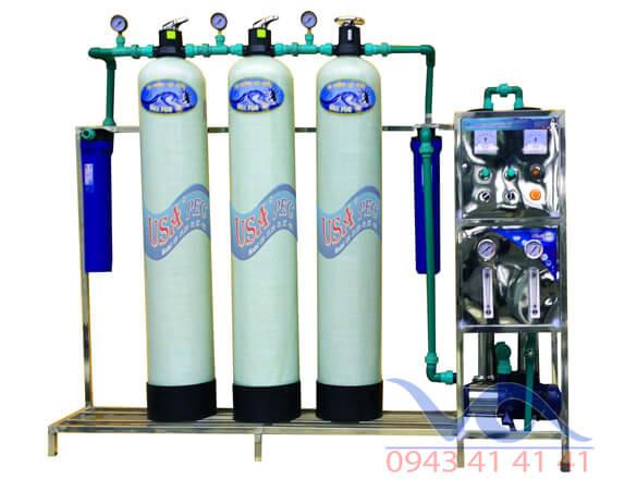 Dây chuyền lọc nước công nghệ RO