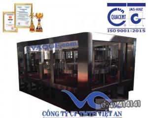 máy chiết rót chai tự động 12 trong 1 vacgf 10000