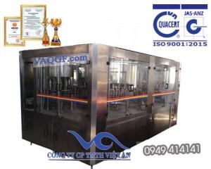 máy chiết rót chai tự động 12 trong 1 vacgf 12000