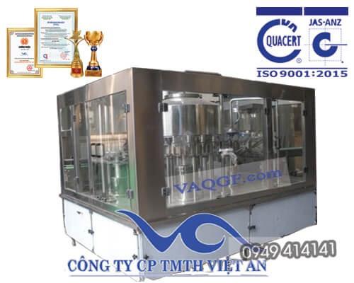 máy chiết rót chai tự động 12 trong 1 vacgf 4000
