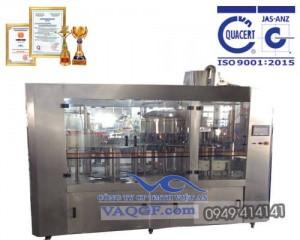 máy chiết rót chai tự động 12 trong 1 vacgf 6000