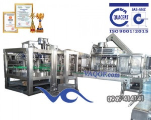 máy chiết rót đóng bình vaqgf 1200