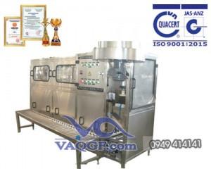 máy chiết rót đóng bình vaqgf 150