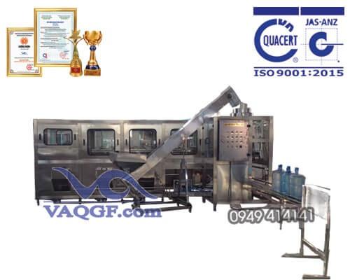 máy chiết rót đóng bình vaqgf 300