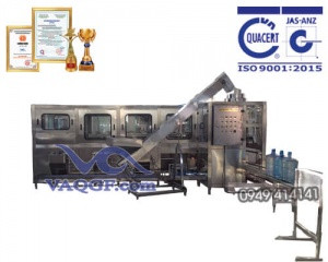 máy chiết rót đóng bình vaqgf 450