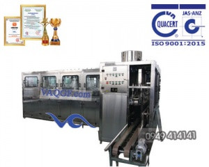 máy chiết rót đóng bình vaqgf 600