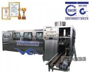 máy chiết rót đóng bình vaqgf 900