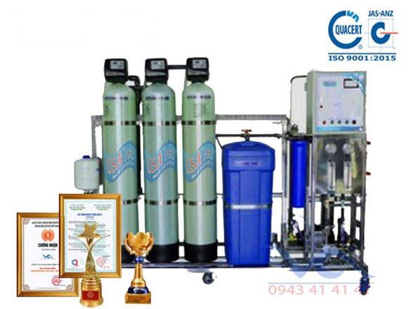 Dây chuyền lọc nước chuyên dùng cho máy làm đá viên