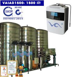 Dây chuyền lọc nước điện giải ion kiềm 1500 lít