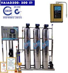 Dây chuyền lọc nước điện giải ion kiềm 300 lít