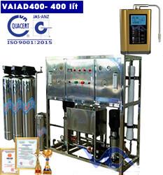 Dây chuyền lọc nước điện giải ion kiềm 400 lít
