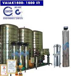 Hệ thống lọc nước tạo khoáng 1500 lít