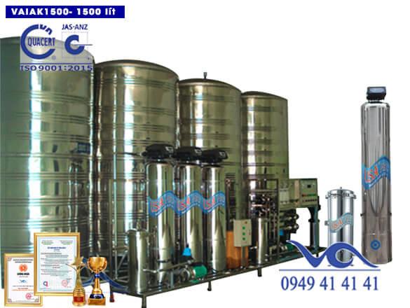 Hệ thống lọc nước tạo khoáng 1500 lít/h VAIAK1500