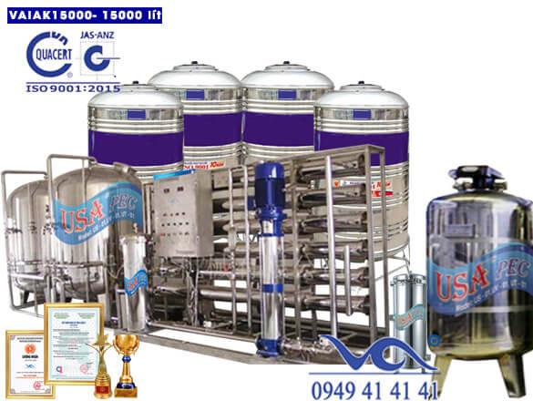 Hệ thống lọc nước tạo khoáng 15000 lít/h VAIAK15000
