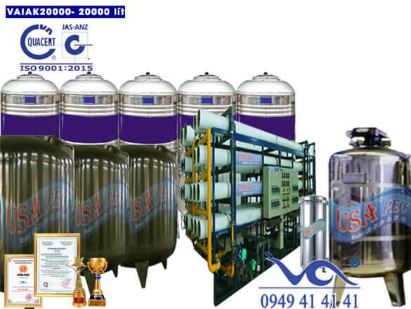 Hệ thống lọc nước tạo khoáng 20000 lít/h VAIAK20000
