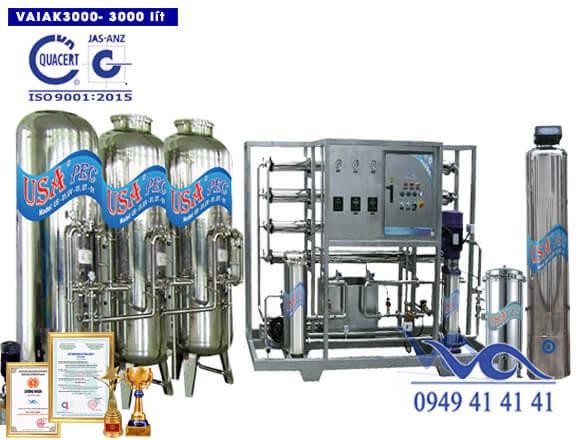 Hệ thống lọc nước tạo khoáng 3000 lít/h VAIAK3000