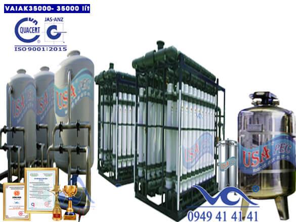 Hệ thống lọc nước tạo khoáng 35000 lít/h VAIAK35000