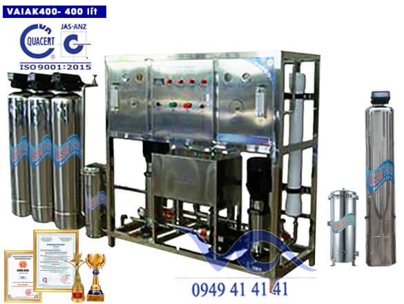 Hệ thống lọc nước tạo khoáng 400 lít/h VAIAK400
