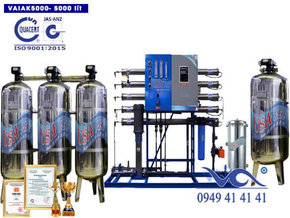 Hệ thống lọc nước tạo khoáng 5000 lít/h VAIAK5000