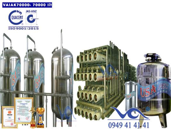 Hệ thống lọc nước tạo khoáng 70000 lít/h VAIAK70000