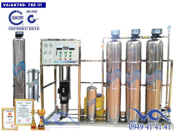 Hệ thống lọc nước tạo khoáng 750 lít/h VAIAK750