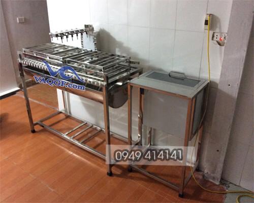 chiết rótchai bán tự động VAMCC 150