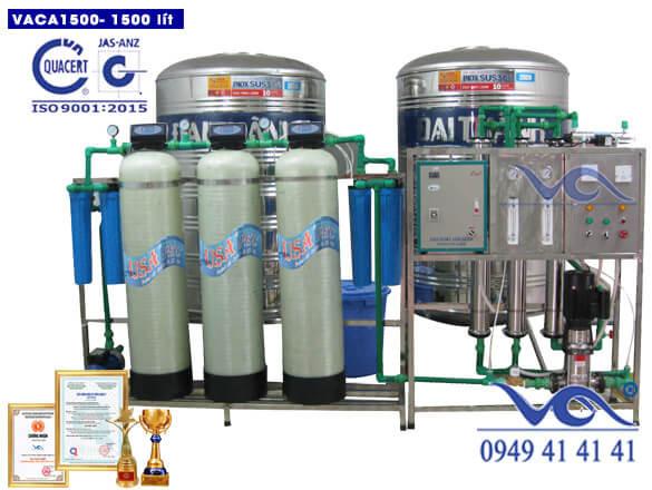 Dây chuyền lọc nước 1500 lít xuất theo hđ 244