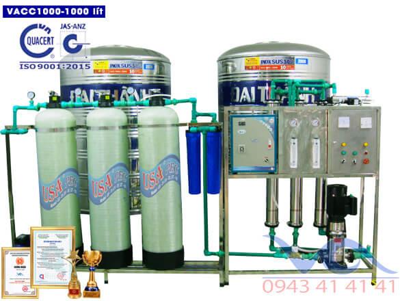 Hệ thống lọc nước RO 1000 lít