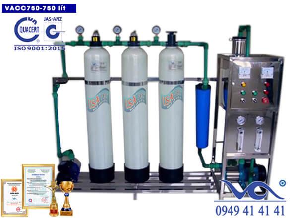 Hệ thống lọc nước ro 750 lít