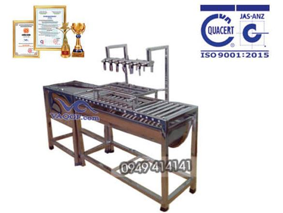 Máy chiết rót chai bán tự động VAMCC 250